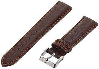Momentum ZC-20BOT DK BROWN 20mm Boticelli Leather Calfskin Brown Watch Strap