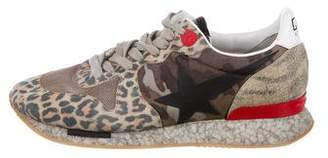 Golden Goose Printed Running Sneakers