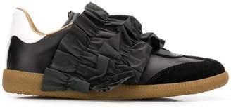 Maison Margiela ruffled design sneakers