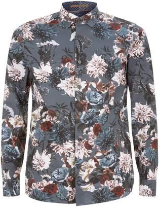 Ted Baker Hopeso Printed Floral Shirt