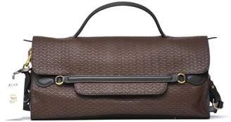 Zanellato Nina M Handle Bag In Brown Leather