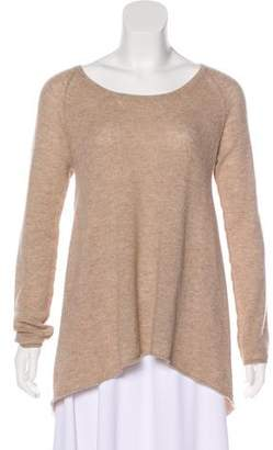 Subtle Luxury Cashmere High-Low Sweater