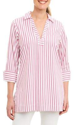 Foxcroft Nora Striped Tunic