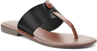 SO® Women's Knot Sandals $29.99 thestylecure.com