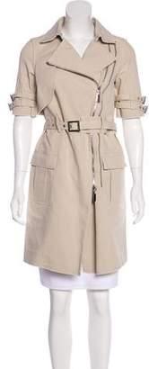 Thomas Wylde Short Sleeve Knee-Length Coat w/ Tags
