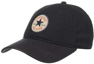 Converse Mens Chuck Taylor All Star Patch Adjustable Hat Black CON001-BLACK