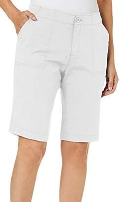 "Caribbean Joe Women's 11"" Clean Poplin Short"