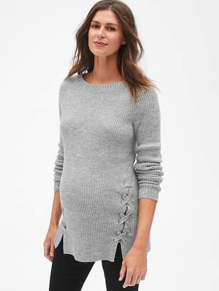 Gap Maternity Side Lace-Up Sweater Tunic