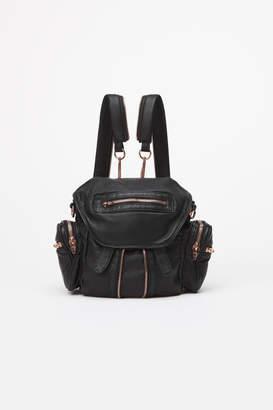 Alexander Wang Alexanderwang marti mini backpack with rosegold