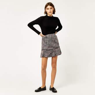Warehouse Molly Tweed Pelmet Skirt