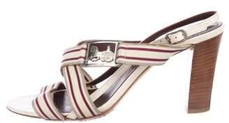 Celine Woven Multistrap Sandals