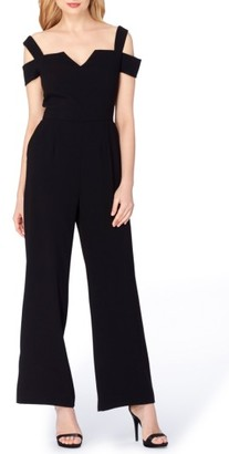 Women's Tahari Wide Leg Jumpsuit $138 thestylecure.com