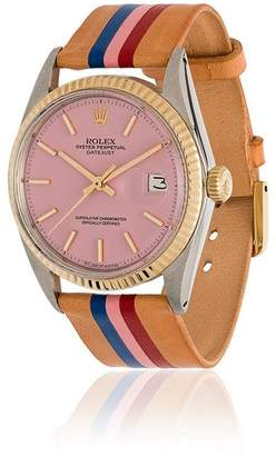 Rolex La Californienne Flamingo Capitola Oyster Perpetual Datejust Two-tone Watch 36mm