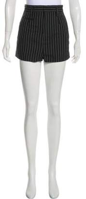 Marc Jacobs High-Rise Striped Shorts