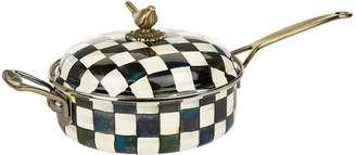 Mackenzie Childs Courtly Check Saute Pan