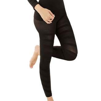 5a1232ad5001d7 Foviza Leggings Body Shaping Slimming Pants for Women Sculpting Sleep Leg  Shaper Hip Push Up Legging