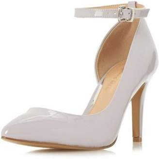 Dorothy Perkins Womens *Head Over Heels by Dune Grey 'Clarra' High Heeled Court Shoes
