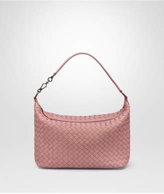 Bottega Veneta Small Shoulder Bag In Boudoir Intrecciato Nappa Leather