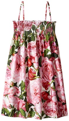 Dolce & Gabbana Kids - Cover-Up Dress Girl's Dress $255 thestylecure.com