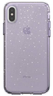Speck Purple\u002FGold iPhone XS\u002FX Presidio Case