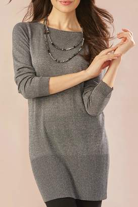 Paige Charlie Metallic Yarn Tunic