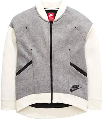 Nike OLDER GIRL NSW TECH FLEECE FZ HOODY