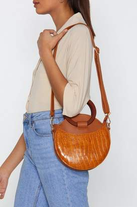 Nasty Gal WANT Handle It Circle Shoulder Bag