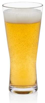 Libbey Indoors Out Break-Resistant Craft Brews Pilsner Beer Glasses, 20-ounce, Set of 4