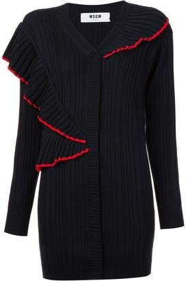 MSGM ruffled cardigan