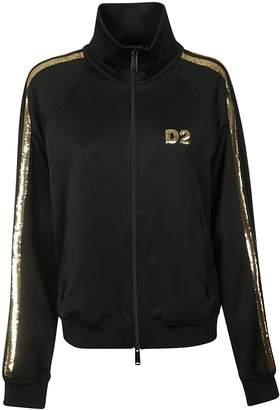DSQUARED2 Sequin Embellished Logo Jacket