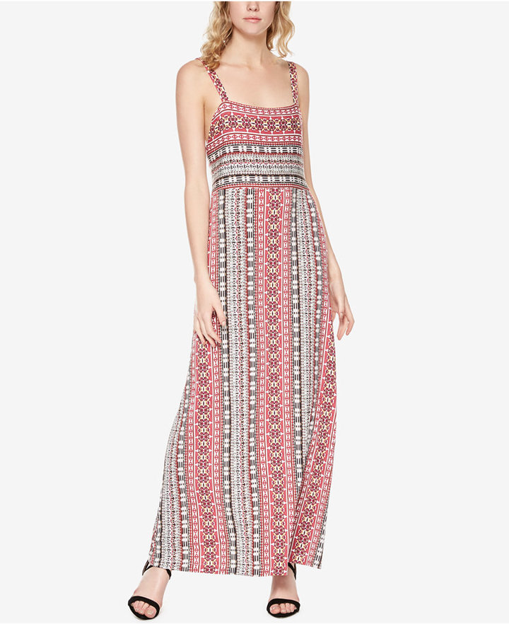 Sanctuary Aiden Printed Maxi Dress