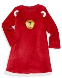 Petit Lem Little Girl's Velvet Nightgown
