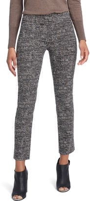 Nic+Zoe Abstract Tweed Print Wonder Stretch Trousers