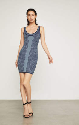 BCBGMAXAZRIA Natyly Geometric Lace Dress