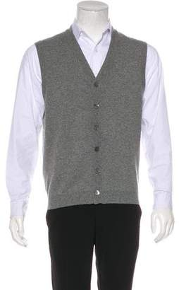Brunello Cucinelli Cashmere Button-Up Sweater Vest
