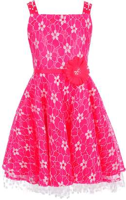 Rare Editions Big Girls' Dress
