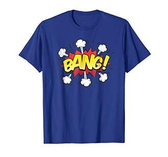 Retro Comic Halftone Bang Shirt