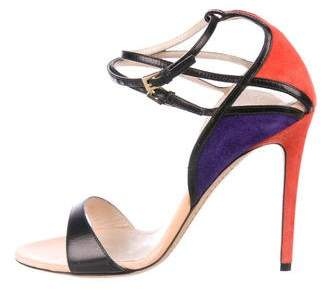 Etro Leather Ankle Strap Sandals