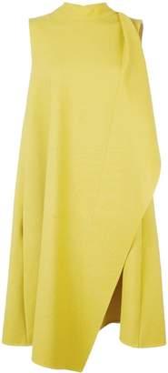 Oscar de la Renta short wrap dress