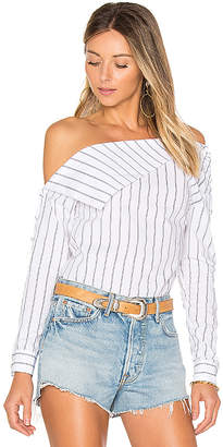 Lovers + Friends x REVOLVE Flip Top in Yellow $148 thestylecure.com