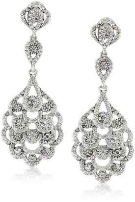Nina 'Eiffel' Antique -Plated Drop Earrings