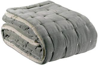 Idyll Home Quilted Velvet Throw