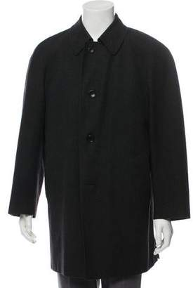 Canali Wool and Cashmere Blend Overcoat