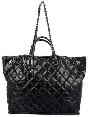 e00b5bb33e5b Chanel Black Calfskin Leather Handbags - ShopStyle