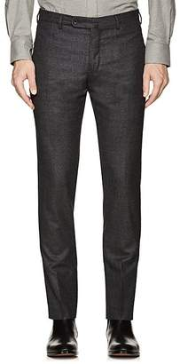 Incotex Men's S-Body Slim Wool Trousers