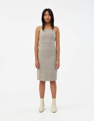 Rita Row Tie Back Checkered Dress