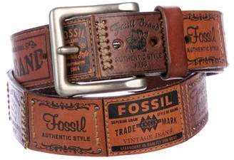 Fossil Leather Waist Belt