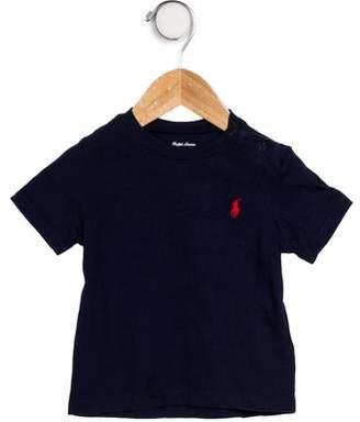 Ralph Lauren Boys' Short Sleeve Knit T-Shirt