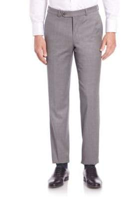 Saks Fifth Avenue COLLECTION Solid Wool Pants