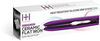Annie Hot & Hotter Silicone Grip Ceramic Flat Iron